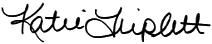 Katie Triplett signature